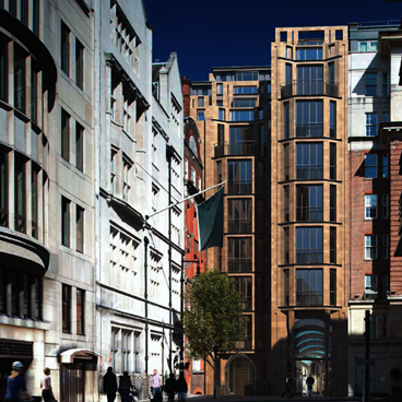DTZ Investors secures planning consent for Mayfair residential scheme