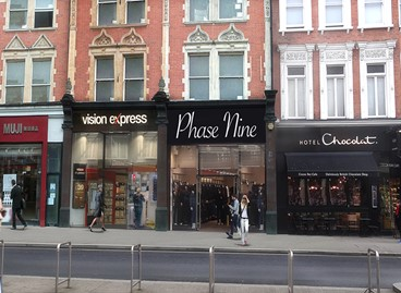Prime Kensington retail shop to let