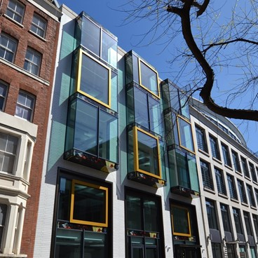 DTZ Investors complete refurbishment of 44 Whitfield Street