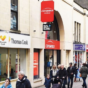 DTZ Investors acquires multi-let retail parade in Bath