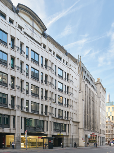 Launching Grade A London city office space