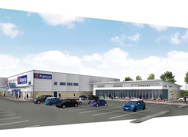 Permission granted for retail park development