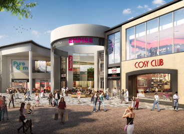 Leisure and retail scheme The Buttermarket Centre purchased for £54.7 million
