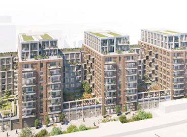 Planning approved to transform former Homebase store in Wandsworth into residential led scheme