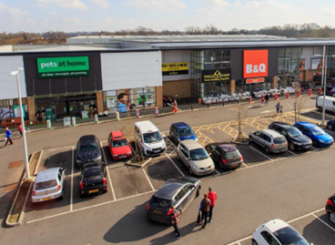 DTZ Investors' acquire Mid Sussex Retail Park