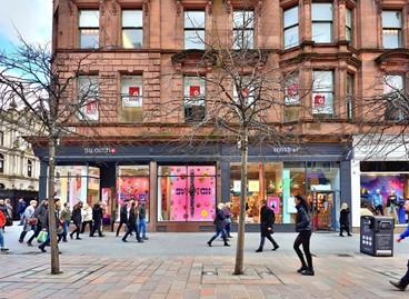 Prime city centre asset secured in Glasgow