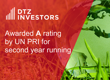 DTZ Investors scores highly in the United Nations Principles for Responsible Investment (UN PRI) sustainability assessment
