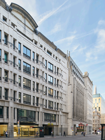 DTZ Investors completes sale of 55 Gracechurch Street for £69m