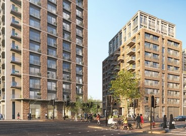 DTZ Investors exchanges on the sale of a major Build to Rent development site in Wandsworth
