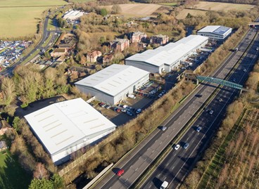DTZ INVESTORS BUYS HATCH INDUSTRIAL ESTATE, BASINGSTOKE FOR £13,395,000.