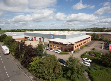 DTZ INVESTORS COMPLETES SALE OF DISTRIBUTION WAREHOUSE IN CRICK