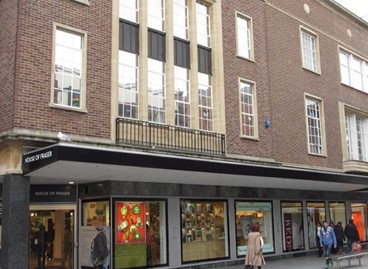 DTZ INVESTORS SUCCESSFULLY ACHIEVES A RETURN ON INVESTMENT FOLLOWING THE SALE OF HOUSE OF FRASER, EXETER.