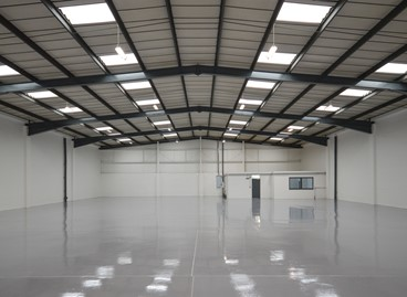 LETTING ON NEWLY REFURBISHED UNIT AT CANONS INDUSTRIAL ESTATE, MILTON KEYNES