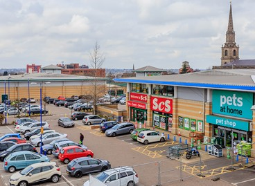 SCS COMMIT TO ST JOHN'S RETAIL PARK IN WOLVERHAMPTON